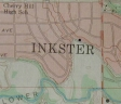 Map of Inkster showing the park area. 90kb